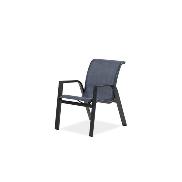 Endure-Sling-Dining-Arm-Dining-Chair—Sparkle-Gray—Augustine-Denim-IMG_9429-