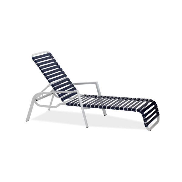 Endure-Strap-Single-Chaise-Lounge—Textured-White—Navy-Strap-IMG_6831-