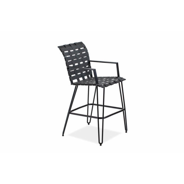 Form-Bar-Stool—Textured-Black—Coal-strap—IMG_7018-