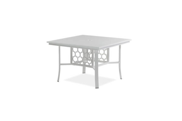 Parkview Cast – 48 Sq Dining Table – Textured White IMG_1132-_800x800