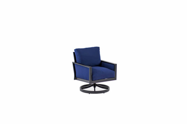 Parkview Knit – Swivel Rocking Club Chair – Text Black – Sparkle Navy IMG_4662-_800x800
