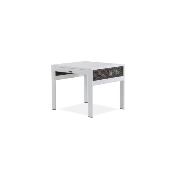 Parkview-Woven—25×27-Side-table—Textured-White—Brz-Woven-IMG_0537-