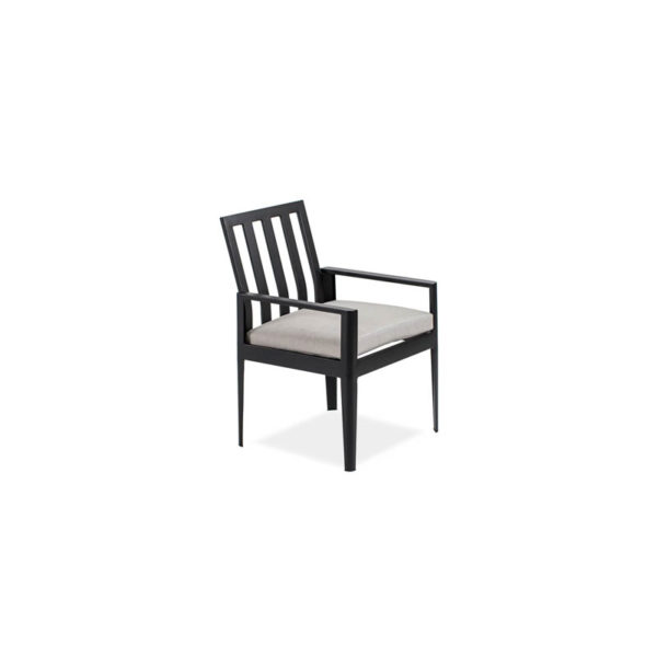 Serene-Arm-Dining-Chair—Textured-Black—Cast-Silver—IMG_7403-