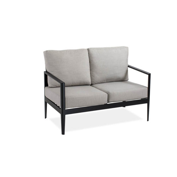 Serene-Love-Seat—Textured-Black—Cast-Silver–IMG_7549-